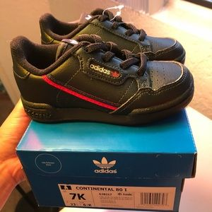Brand new toddler's continental Adidas